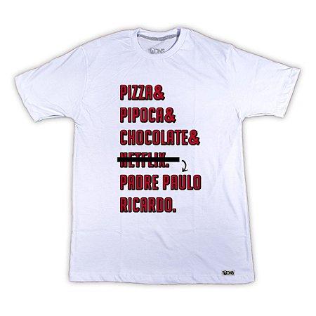 Camiseta Pizza Pipoca