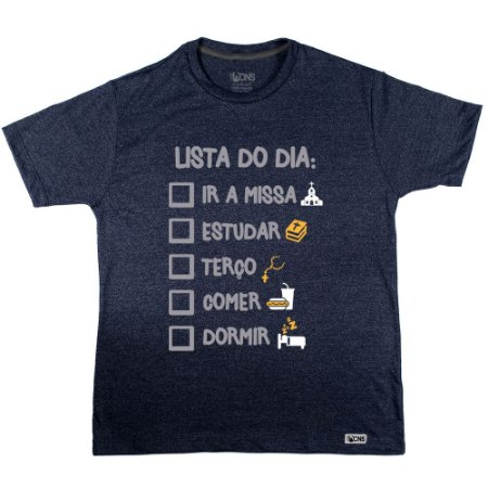 Camiseta Lista do Dia ref 136
