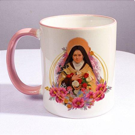 Caneca Santa Teresinha do Menino Jesus - 325ml
