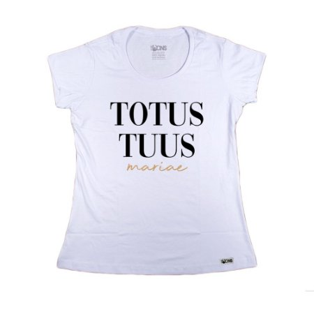 Baby Look Totus Tuus