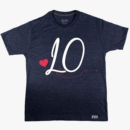 Camiseta LOVE Coração - LO ref 137