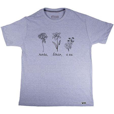 Camiseta Lírio - Nathalia Dutra