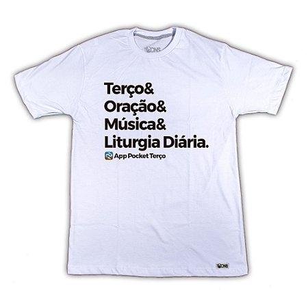 Camiseta Pocket Terço