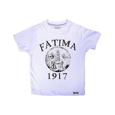 Camiseta Infantil Fátima ref 124