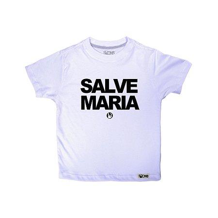 Camiseta Infantil Salve Maria ref 156