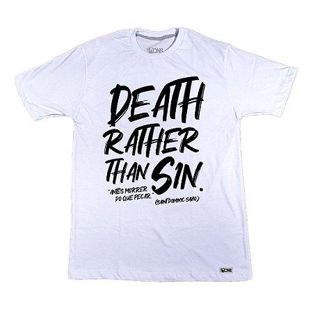 Camiseta UseDons Antes morrer do que pecar ref 166