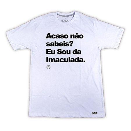 Camiseta Feminina UseDons Acaso não sabeis ref 102