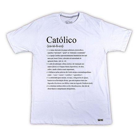 Camiseta Feminina UseDons Católico ref 113