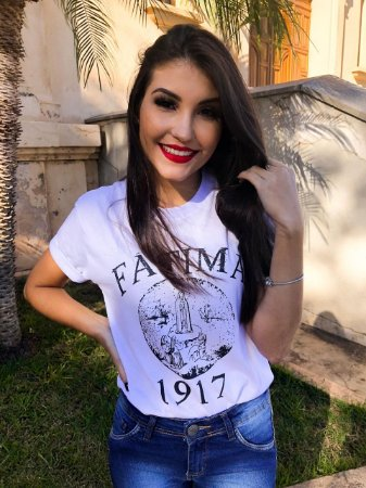 Camiseta Feminina UseDons Fátima ref 124