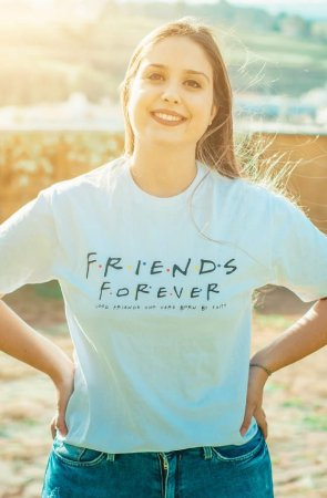 Camiseta Feminina UseDons Friends