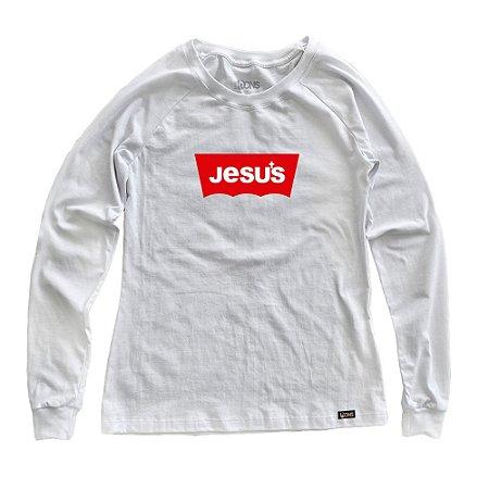 Manga Longa Feminina UseDons Jesus ref 131