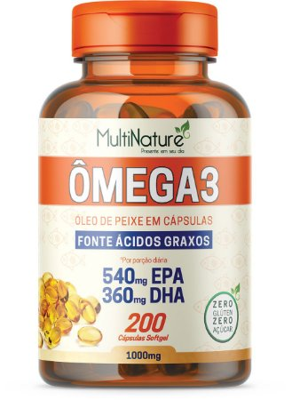 Omega 3 - 1G 200Caps
