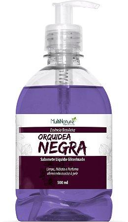 Sab Liq 500Ml Orquidea Negra/Glicerina C/Valv