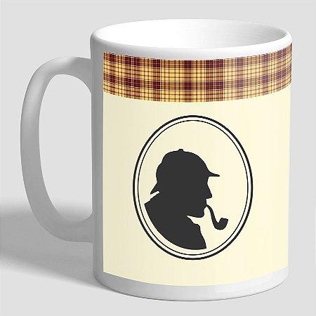 Caneca Literária Sherlock Holmes