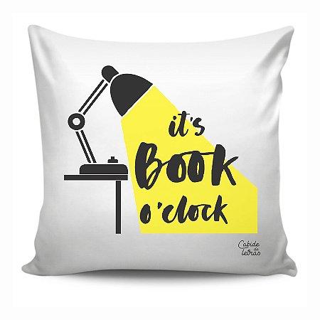 Almofada A hora do livro