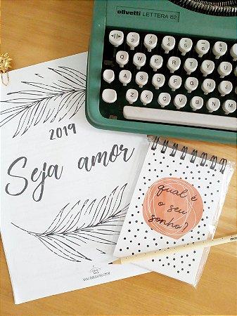 Caderneta Sonho