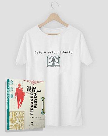 Camiseta Literária Fernando Pessoa