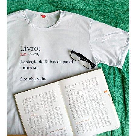 Camiseta Definição Livro