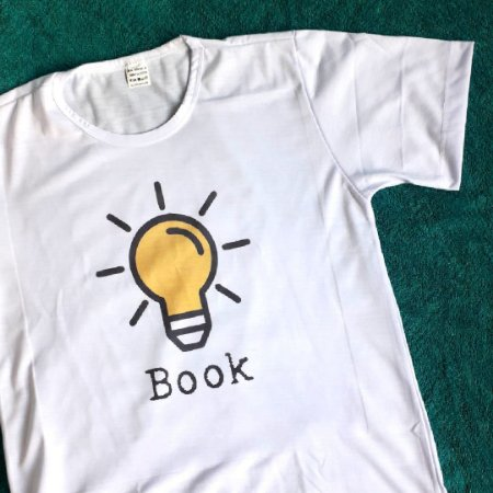 Camiseta Literária Book