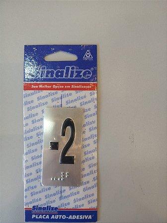 Kit Placas em Braille de Pavimentação para Elevadores (- 2,-1 e T)