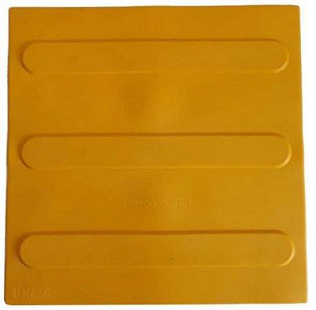 Piso Tátil direcional cor amarelo