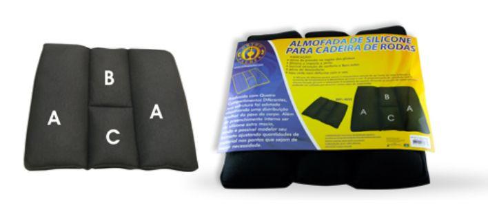Almofada especial para cadeira de rodas