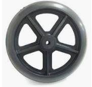 Roda Aro 8 para rolamento com pneu