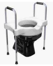 Assento sanitário SIT V com apoio ajuste