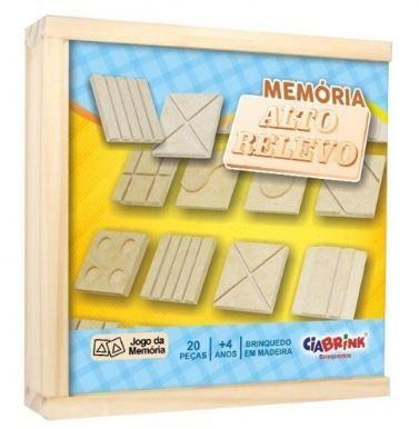 Memória Alto Relevo Braille