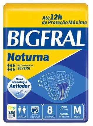 BigFral Noturna M - com 8 unidades