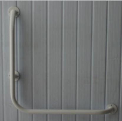Barra de Apoio Angular - Aço Carbono - 70 X 70 CM