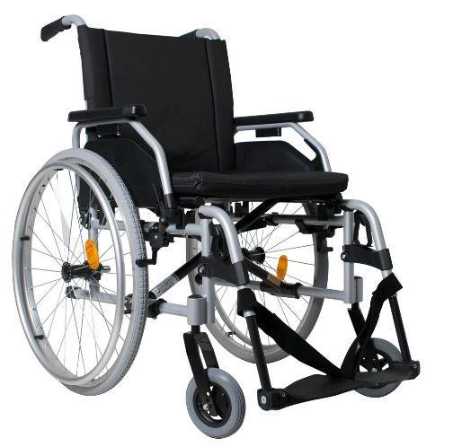 Cadeira de Rodas Start M1 - CINZA - 43 cm
