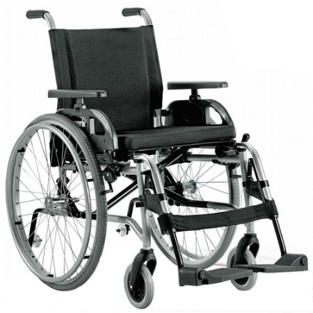 Cadeira de Rodas Taipú - PRATA - 46 CM