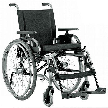 Cadeira de Rodas Taipú - PRATA - 42 CM