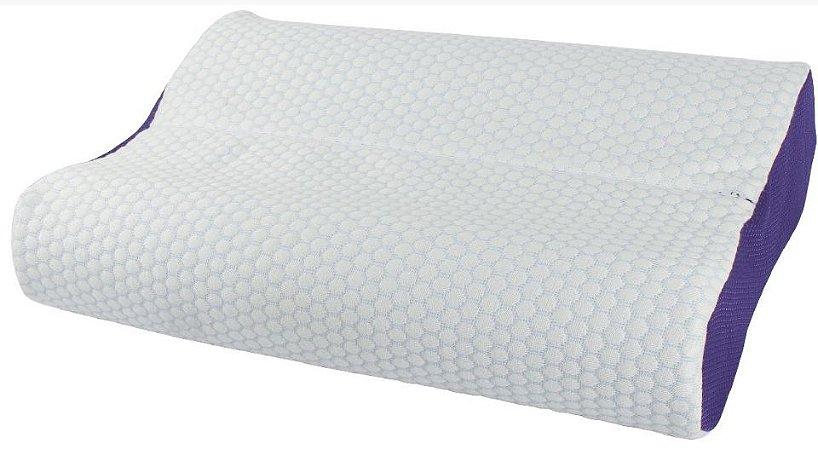 Travesseiro Ortopédico Viscoelástico NASA Gel
