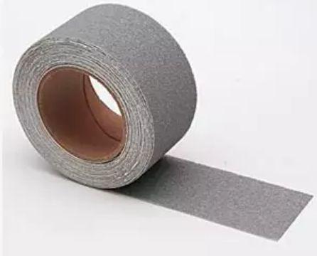 Fita Anti-Derrapante Cinza 50mm x 20m