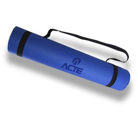 Tapete para Exercícios Azul Royal - Com Alça