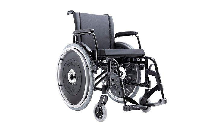 Cadeira de Rodas AVD - PRETO - 50 CM