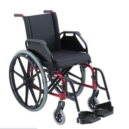 Cadeira de Rodas KE L 44X P 45 X A 45 - Vermelha
