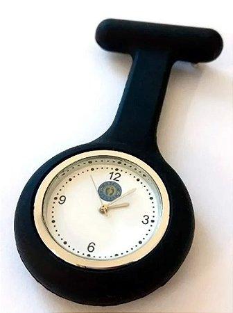 Relógio de silicone para profissionais de saúde
