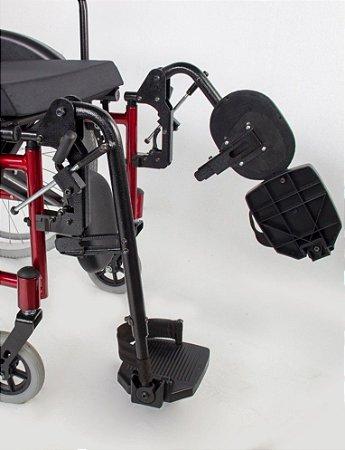 Cadeira de rodas MA3S com apoio de pés eleváveis - 46 CM
