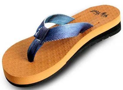 Sandalia Fly Feet Anabella  Caramel  39/40 feminino