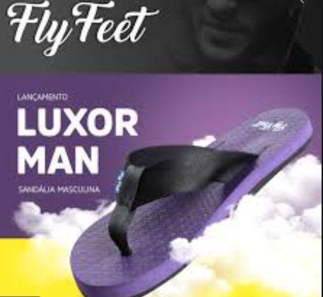 Sandalia Fly Feet luxor man 37/38 masculino