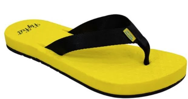 Sandalia Fly Feet yellow racing  43/44 masculino