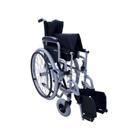 Cadeira de Rodas Centro S1 - PRATA - 35,5 CM