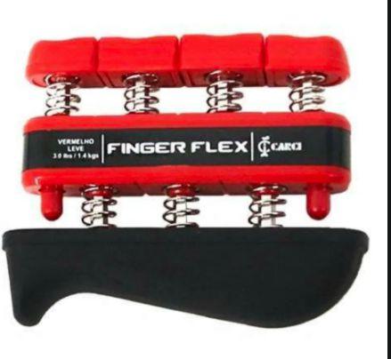 FINGER FLEX - Exercitador para Mãos e Dedos - Nível de Resistência: Leve