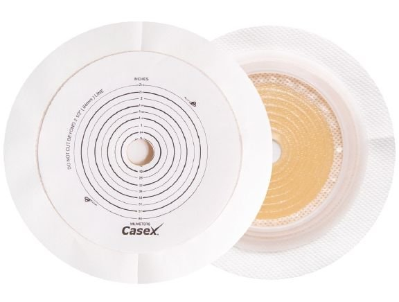 Placa Flexível com Flange 70 mm para Duas Peças -  recortável de 13-64 mm