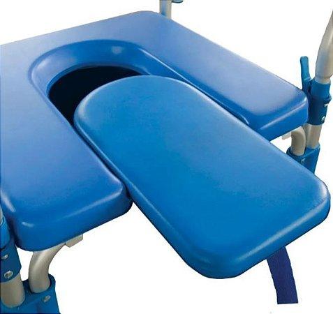 Assento com Meio Vazio para Cadeira de Banho D60