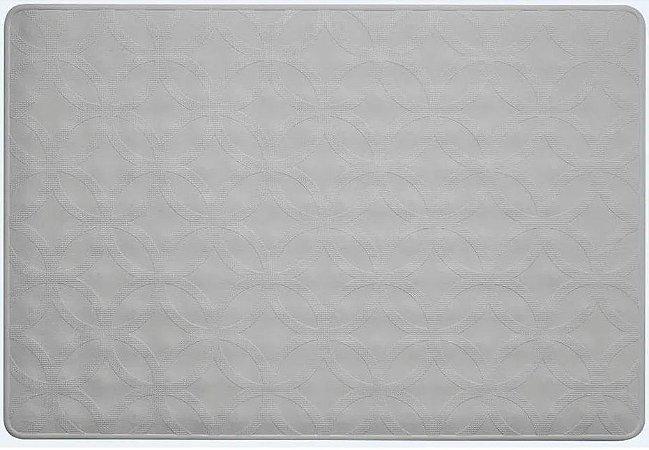 Tapete para Box em Borracha 40 x 60 cm - Cinza