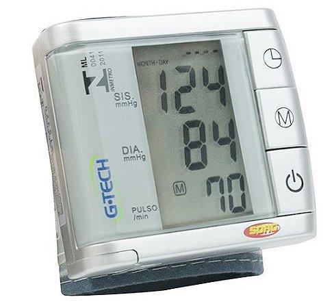 Aparelho de pressão digital automático de pulso  GP 300- G-TECH